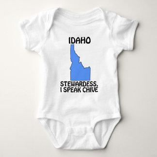 Idaho - Stewardess, I Speak Chive Baby Bodysuit