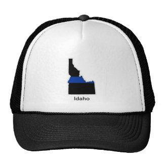 Idaho Thin blue Line Trucker Hat
