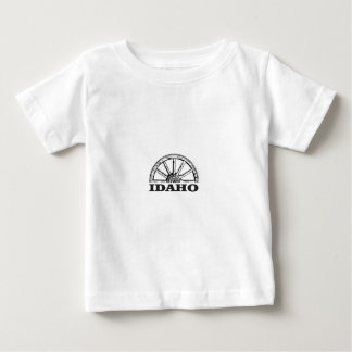 Idaho wagon wheel baby T-Shirt