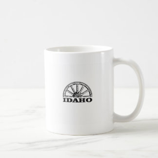 Idaho wagon wheel coffee mug