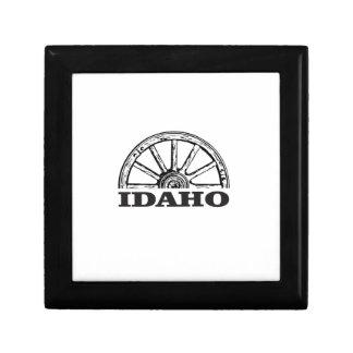Idaho wagon wheel gift box