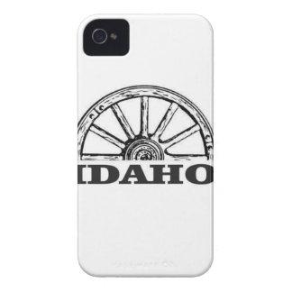 Idaho wagon wheel iPhone 4 cases