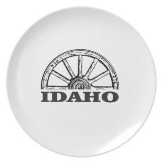Idaho wagon wheel plate