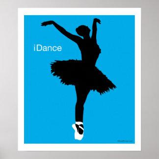 iDance (Blue) Poster