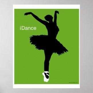 iDance Green Print