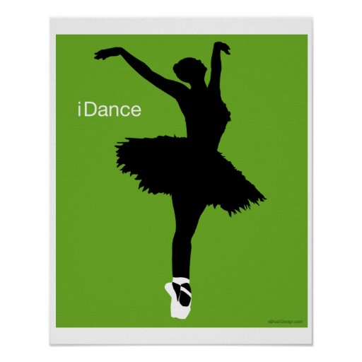 iDance (Green) Print
