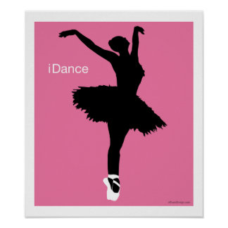 iDance (Pink) Posters