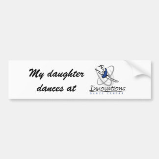IDC Dance Bumber Sticker