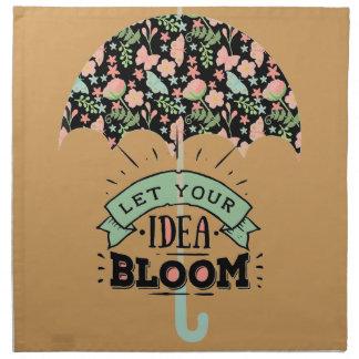Idea Bloom Umbrella Napkin