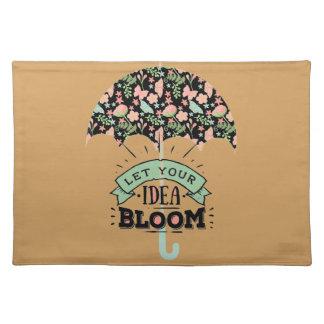Idea Bloom Umbrella Placemat