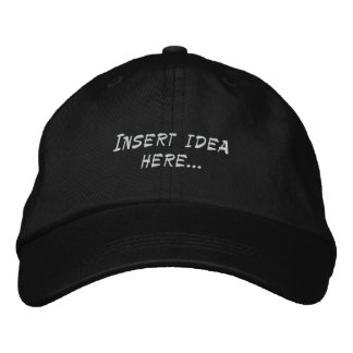 Idea Hat Embroidered Hats