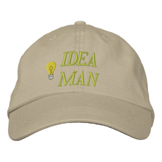 Idea Man Embroidered Hat