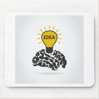 Idea of a brain mouse pad