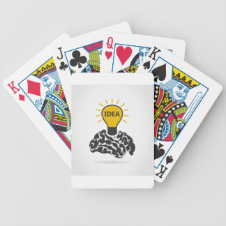Idea of a brain poker deck