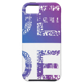 IDEA - typographic Case For The iPhone 5