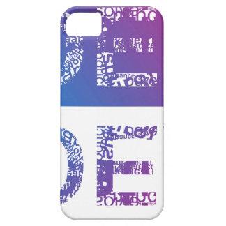 IDEA - typographic iPhone 5 Cover