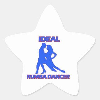 ideal samba dance designs star sticker