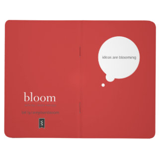 """Ideas are Blooming"" Blank Journal"