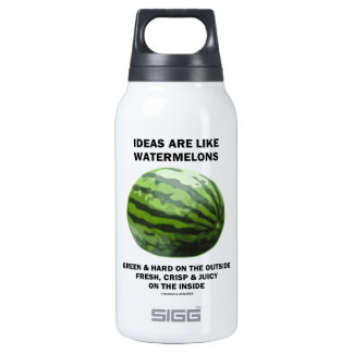 Ideas Are Like Watermelons (Food For Thought) 0.3L Insulated SIGG Thermos Water Bottle