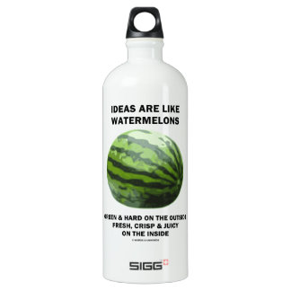 Ideas Are Like Watermelons (Food For Thought) SIGG Traveller 1.0L Water Bottle