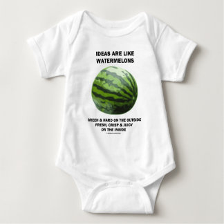 Ideas Are Like Watermelons (Food For Thought) Tshirt
