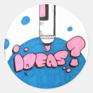 Ideas? sticker
