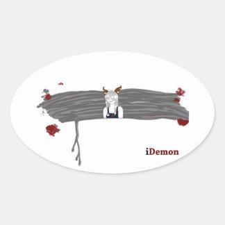 iDemon Oval Sticker