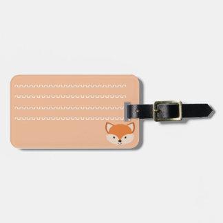 Identificatory label of luggage raposinha luggage tag