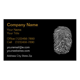 Identity Protection Business Cards