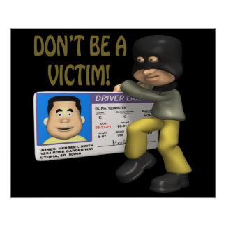 Identity Theft Poster