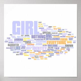 Identity Wordle Print