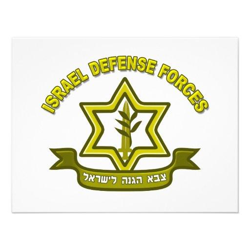 IDF - Israel Defense Forces insignia Custom Invites