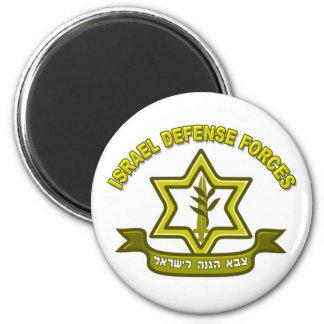 IDF - Israel Defense Forces insignia 6 Cm Round Magnet