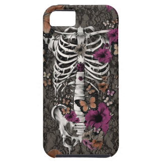 Idiopathic Idiot floral lace skeleton iPhone 5 Covers