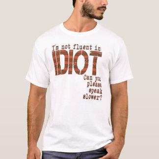 Idiot - EDUN LIVE Genesis Unisex Standard Crew T-Shirt