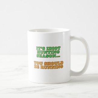 Idiot Hunting Season Mug