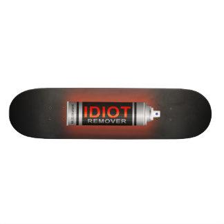 Idiot remover. 21.6 cm old school skateboard deck