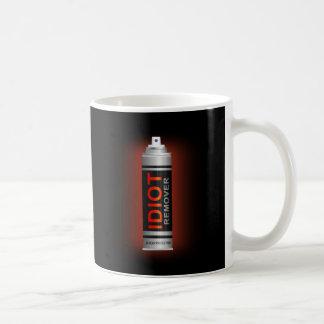 Idiot remover. coffee mug