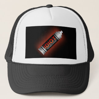 Idiot remover. trucker hat