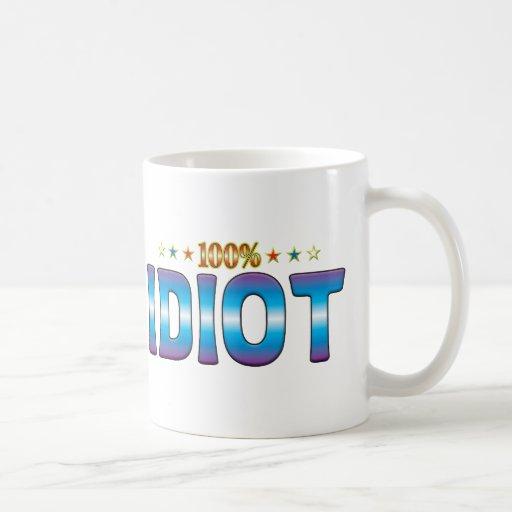 Idiot Star Tag v2 Mug