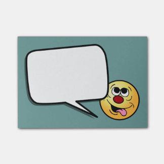 Idiotic Smiley Face Grumpey Post-it® Notes