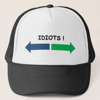 idiots trucker hat