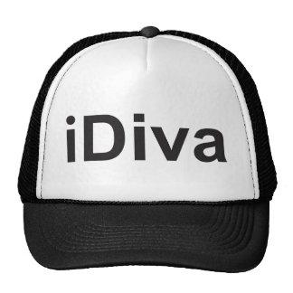 iDiva not iPhone or iPad fun witty humorous diva Cap