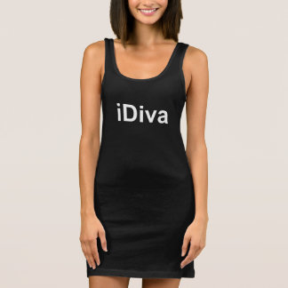 iDiva not iPhone or iPad fun witty humorous dress