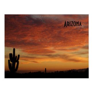 IDKP Arizona sunset post card