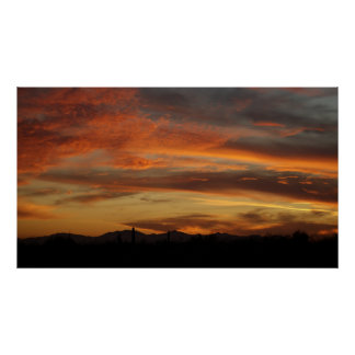 IDKP Arizona Sunset Poster