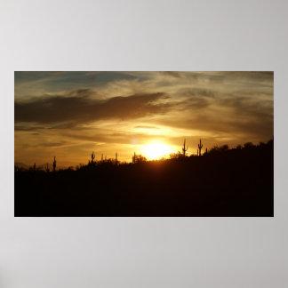 IDKP hill sunset Poster