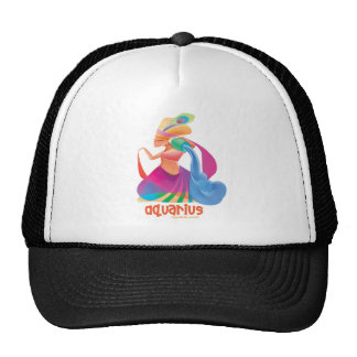 idolz_aquarius mesh hat