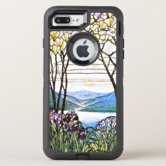 Idyllic Landscape Tiffany Stained Glass OtterBox Defender iPhone 8 Plus/7 Plus Case