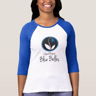 IE Blue Belles color block tee